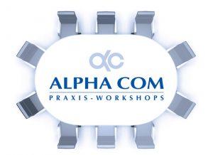 Logo der Praxis-Workshops, Stand: 12/13